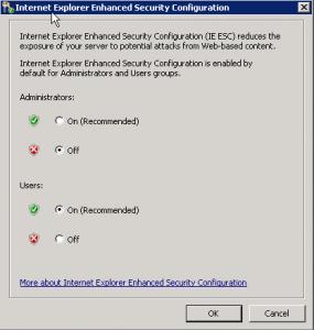 Переключить IE ESC