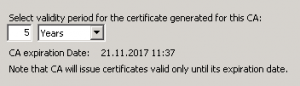 Установка роли Центра сертификации 2008