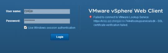 VMWare vCenter 5.5