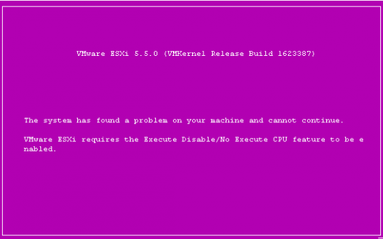 Ошибка при установке VMWare 5.5